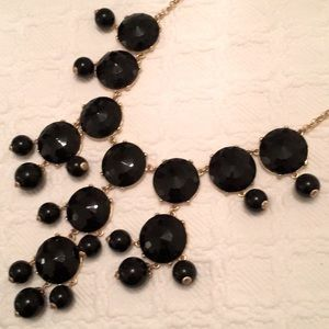 J Crew Faceted Stone Bubble Necklace NEW Paid $195